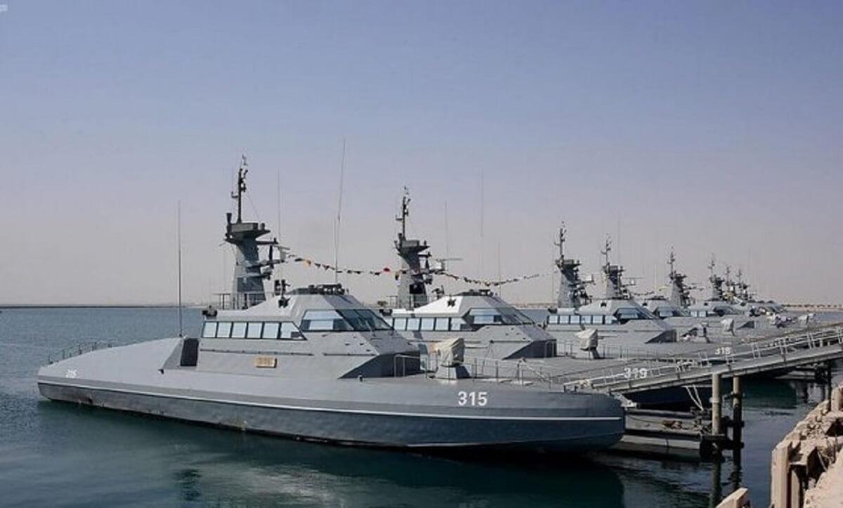 عربستان سری جدید قایقهای تندروی فرانسه را تحویل گرفت