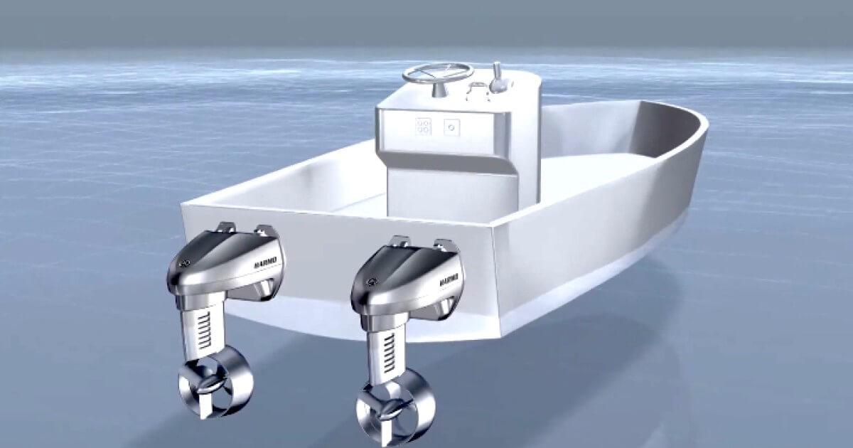 یاماها قایق برقی چابک و بی صدا تولید کرد