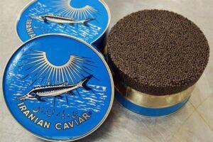 ماهی کنسرو خاویار ایران