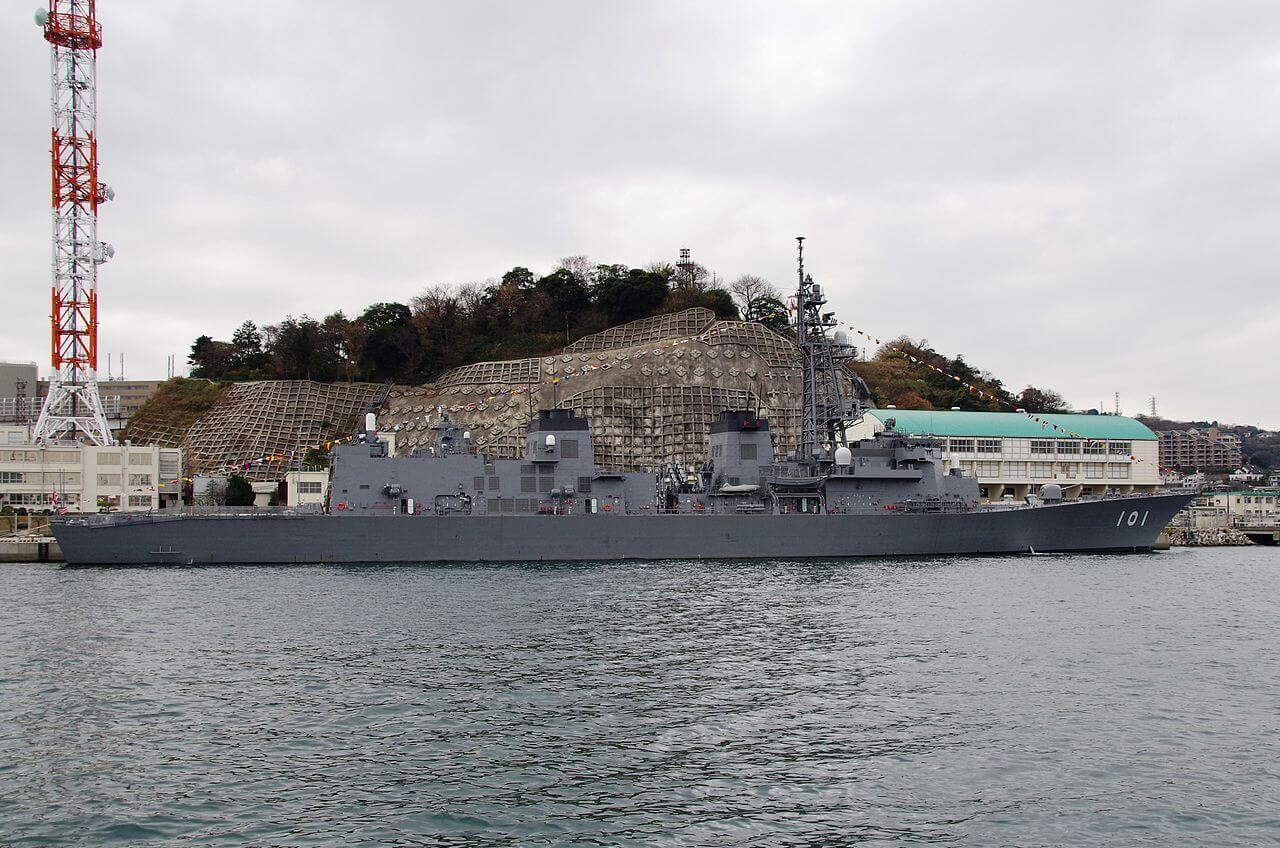 کرونا اعزام ناوشکن ژاپنی به خاورمیانه را به تعویق انداخت