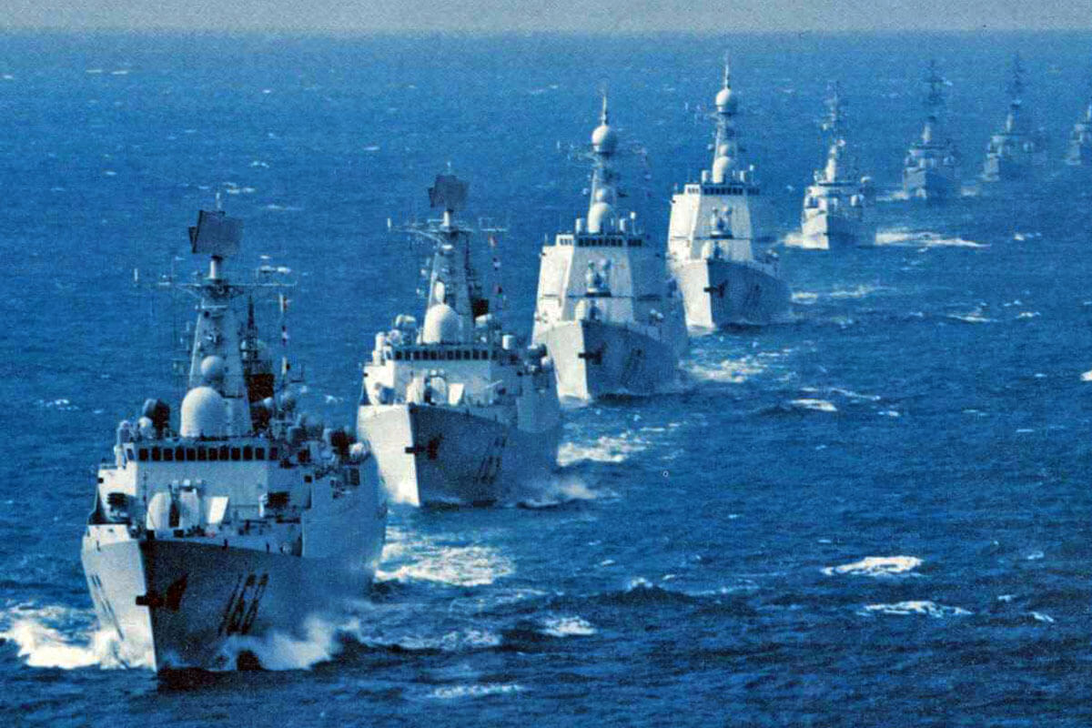 برنامه چین برای انجام تمرینات نظامی بیشتر در سواحل شرقی