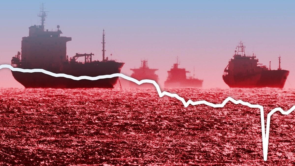 چارتر ابرنفتکشها برای نگهداری مازاد عرضه نفت
