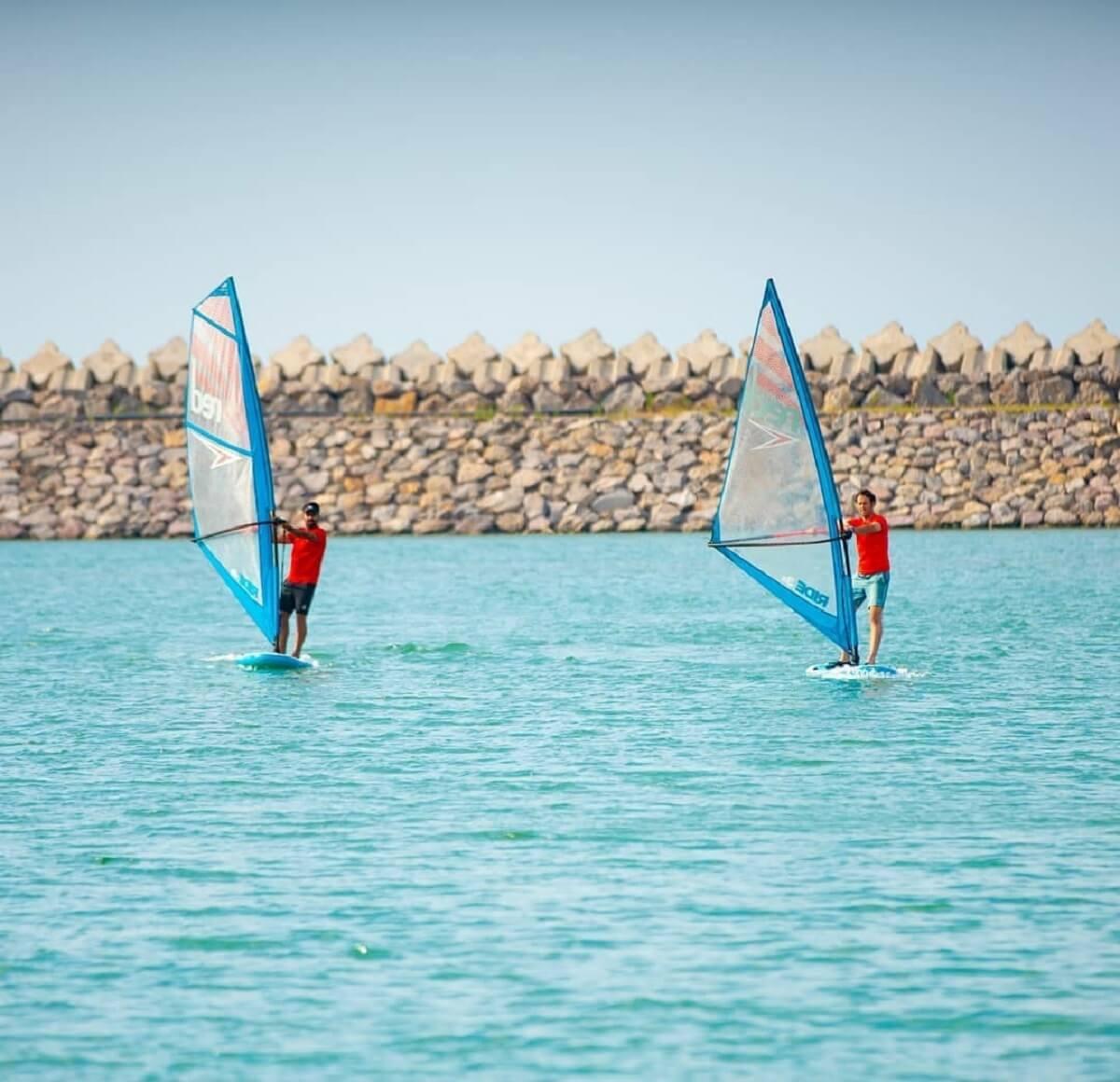 ورزش دریایی قایق بادبانی - مارینا کاسپین-بندر انزلی