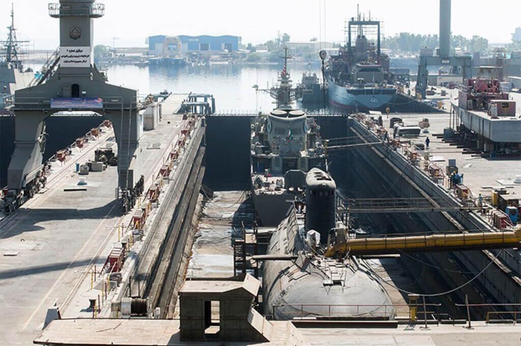 کارخانجات نیروی دریایی ارتش در بندرعباس