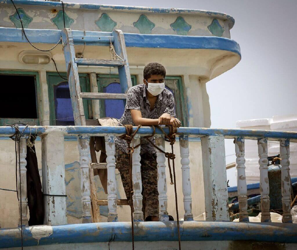 کنترل کرونا در شناورها و لنج ها در بنادر ایران