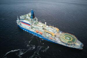 آرکتیکای روسیه-بزرگترین و قدرتمندترین کشتی اتمی یخشکن جهان