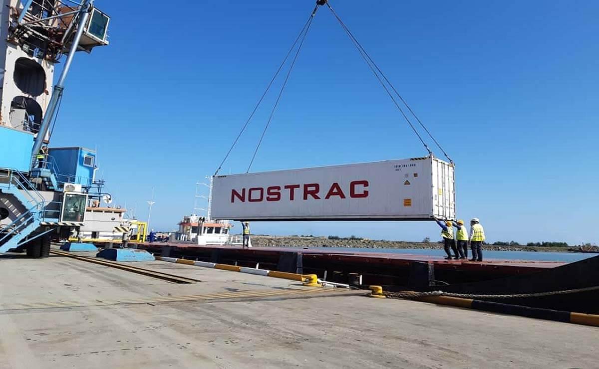 رونق صادرات و ترانزیت کالاهای یخچالی از طریق بندرشهید بهشتی