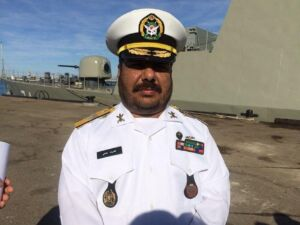 امیر دریادار دوم غلامرضا طحانی معاون عملیات نیروی دریایی ارتش