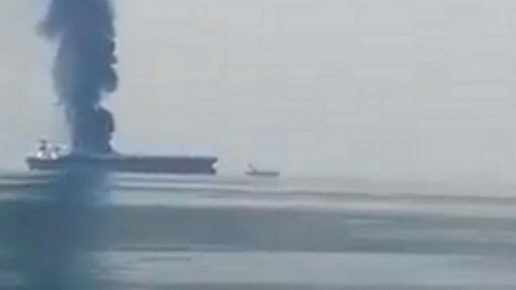 انفجار دو نفتکش روسی در دریای آزوف
