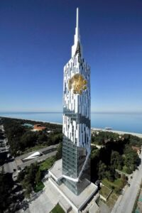 برج دانشگاه فناوری بندر باتومی (Technological University Tower)
