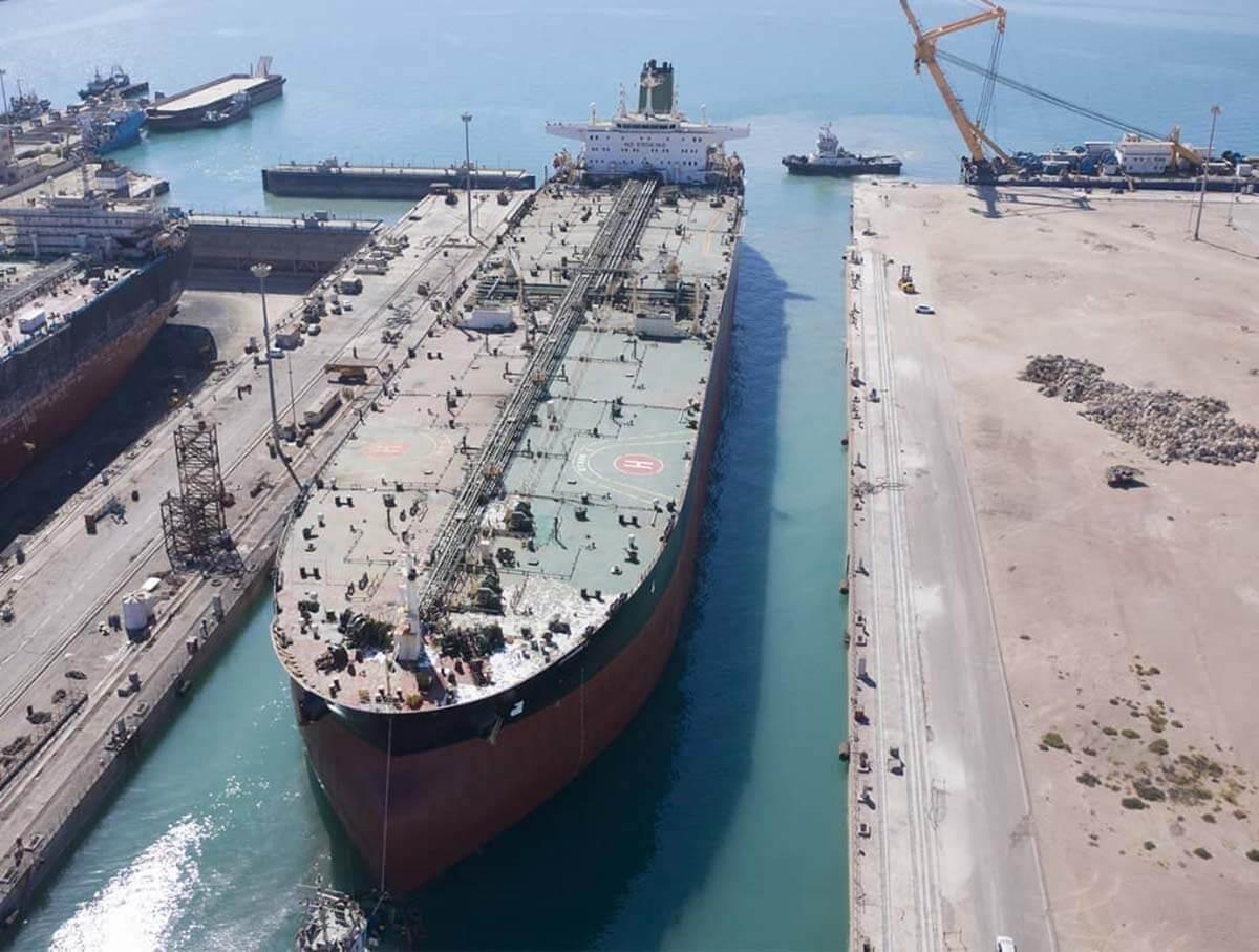 پایان تعمیرات نفتکش stark در ایزوایکو
