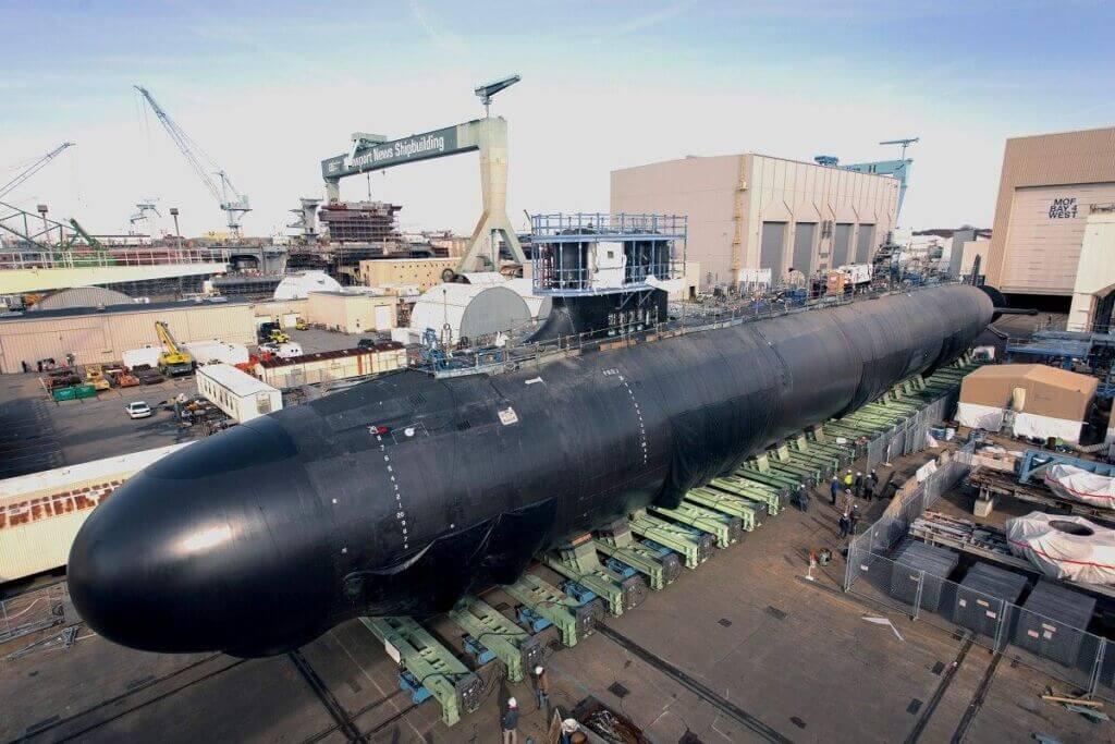 زیردریایی تهاجمی کلا ویرجینیا نیروی دریایی آمریکا - Virginia-class submarine