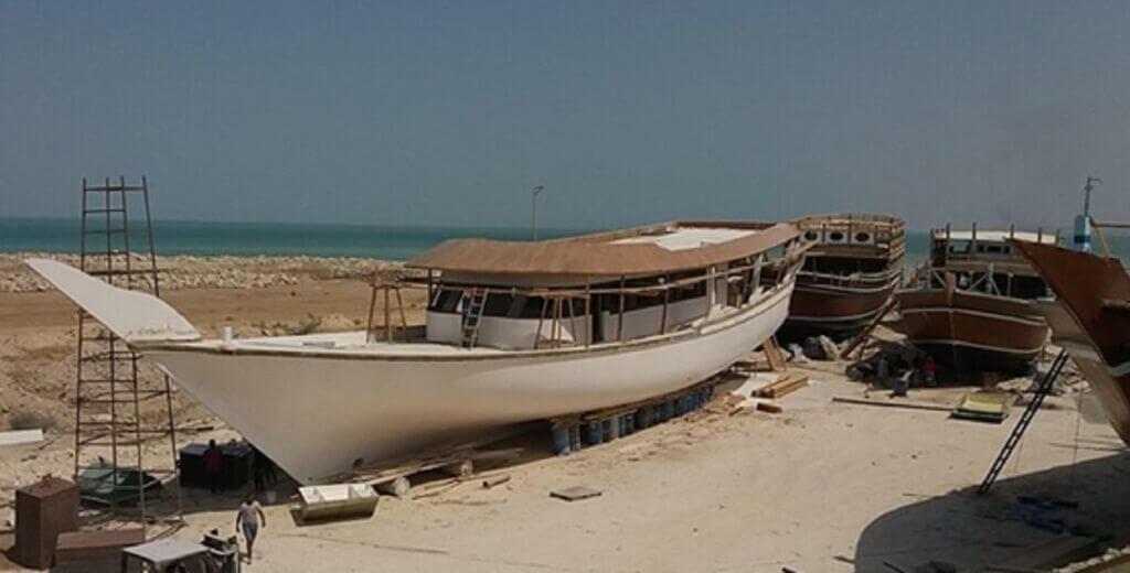 ساخت سه شناور تفریحی جهت استفاده در جام جهانی قطر