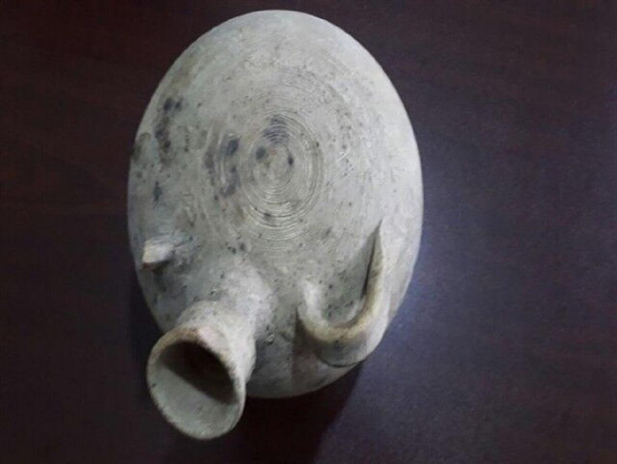رونمایی از سفال پیدا شده در آبهای خلیج فارس