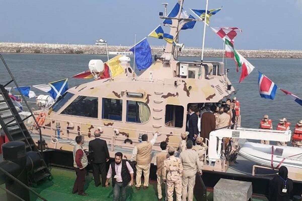 چهار فروند شناور به ناوگان عملیاتی دریابانی بوشهر الحاق شد