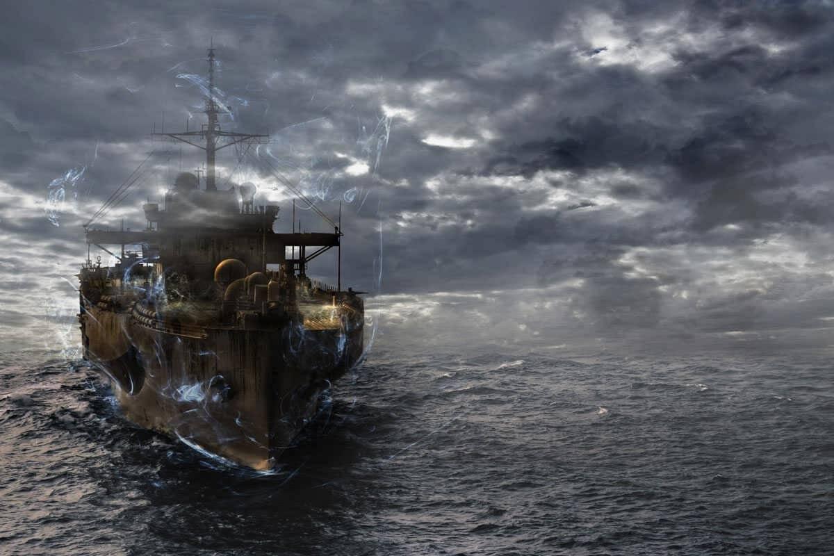 وقتی کشتی جنگی آمریکا غیب میشود!