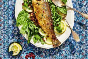 ماهی پخته شده جنوب ایران- iran south fish cook