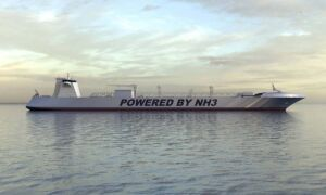 موتور کشتی با قدرت سوخت آمونیاک-NH3