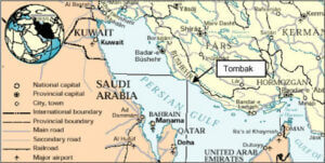 موقعیت جغرافیایی محل احداث کارخانه ال ان جی ایران