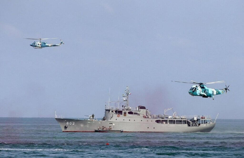ناو موشکانداز حمزه با کد 802- ناوگان شمال نیروی دریایی ارتش