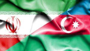 پرچم ایران و آذربایجان؛ دو کشور همسایه در دریای کاسپین