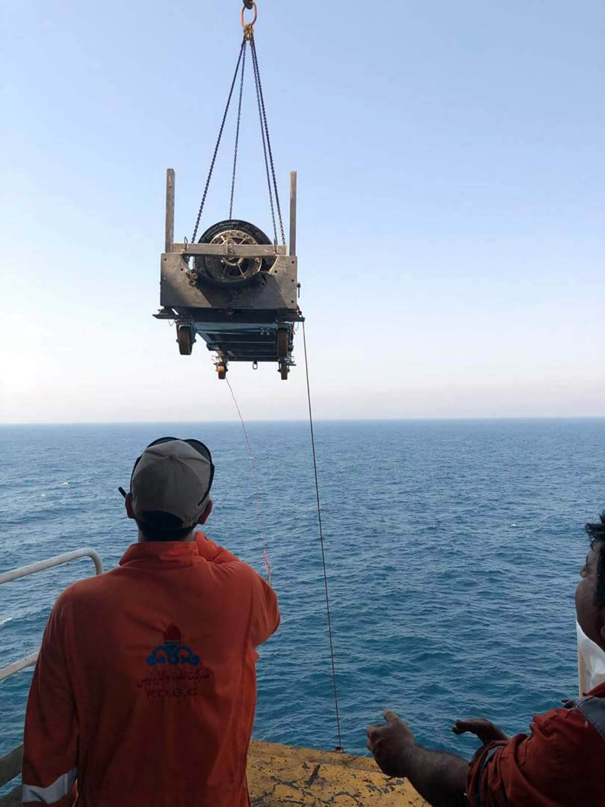 پیگرانی هوشمند خط لوله دریایی پارس جنوبی