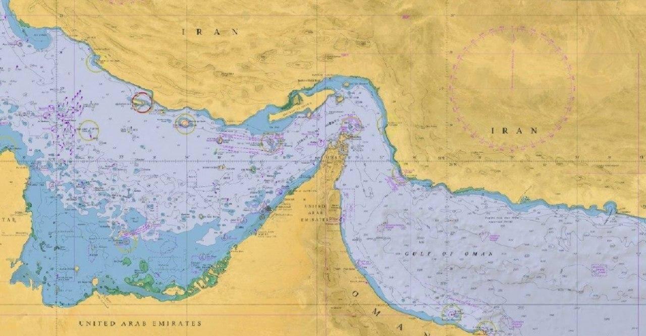 فروش نیم میلیون دلاری چارتهای دریایی ایرانی
