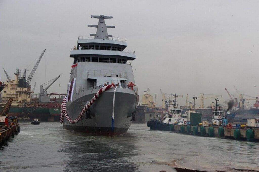 کشتی جنگی دوحه نیروی دریایی قطر ساخت ترکیه-QTS 91 WAR SHIP