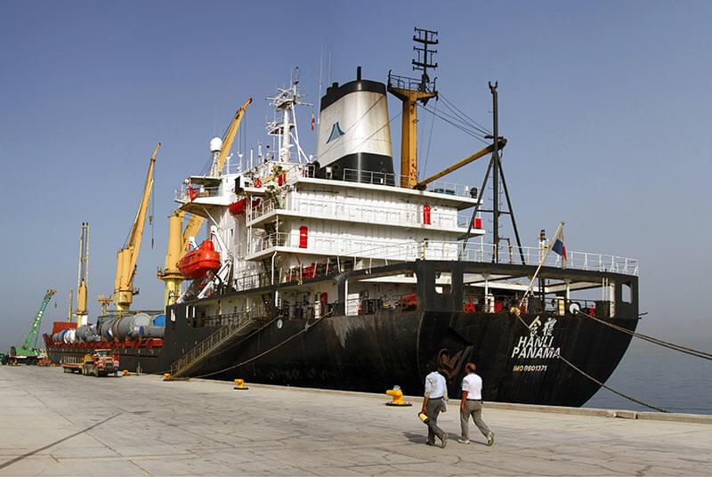 کشتی حمل کالا