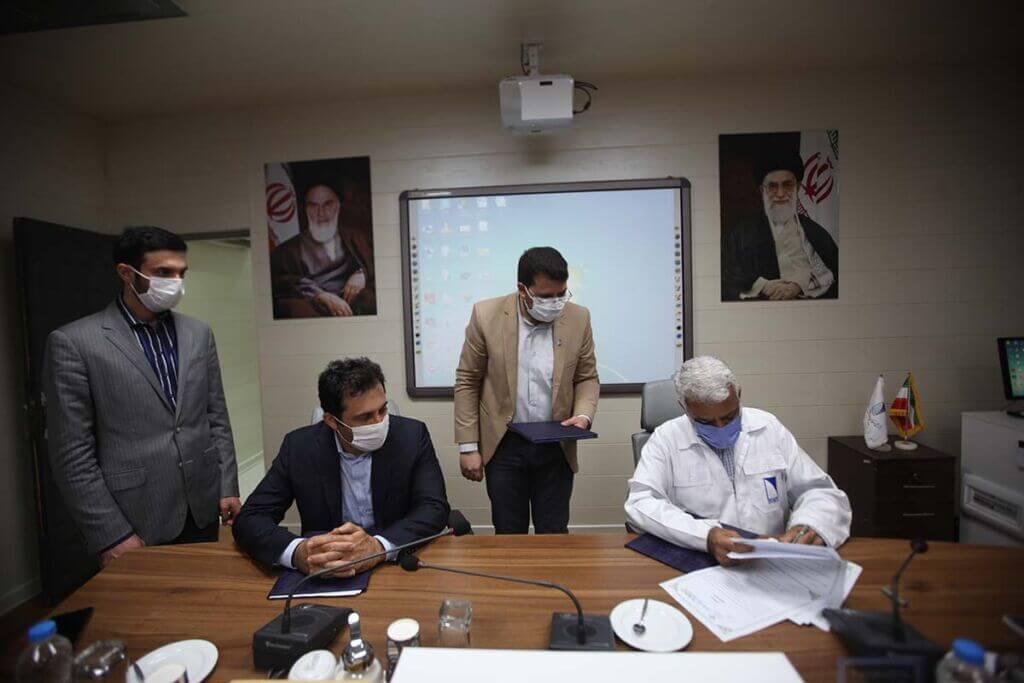 امضا تفاهم نامه بین ایزوایکو و معاونت علمی ریاست جمهوری