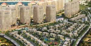 باغهای فلورستا در جزیره مروارید دوحه قطر- Floresta Gardens
