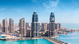 برجهای جزیره لولو دوحه قطر