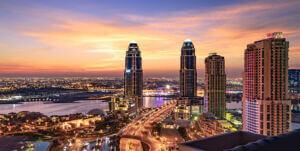 برجهای UDC Tower جزیره مروارید دوحه قطر