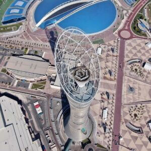 برج اسپایر دوحه قطر - Aspire (Torch) Tower