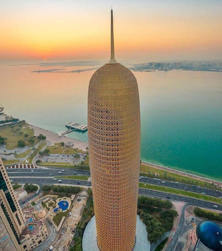 برج دوحه قطر-Doha Tower Qatar