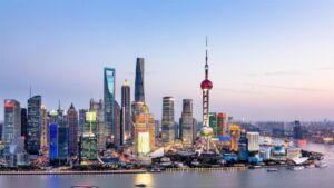 بندر ثروتمند شانگهای چین