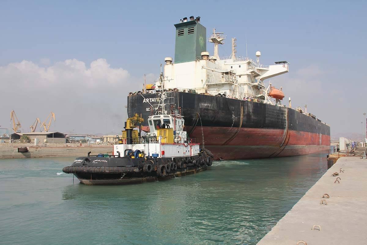 فیلم توقیف نفتکش ایرانی در آبهای اندونزی