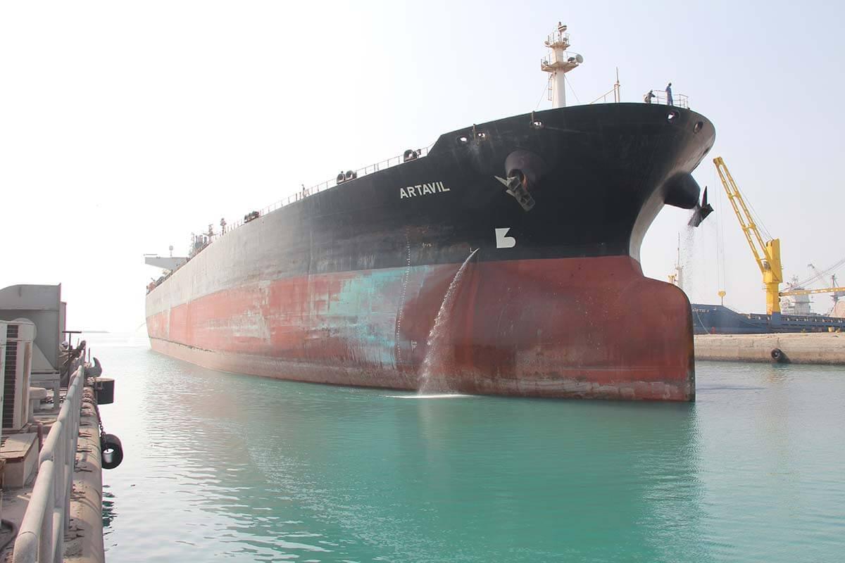 ورود نفتکش آرتاویل به ایزوایکو جهت تعمیرات اساسی