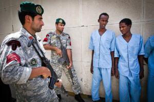 دستگیری دزدان دریایی سومالی توسط تکاوران و کلاه سبزهای نیروی دریایی ارتش