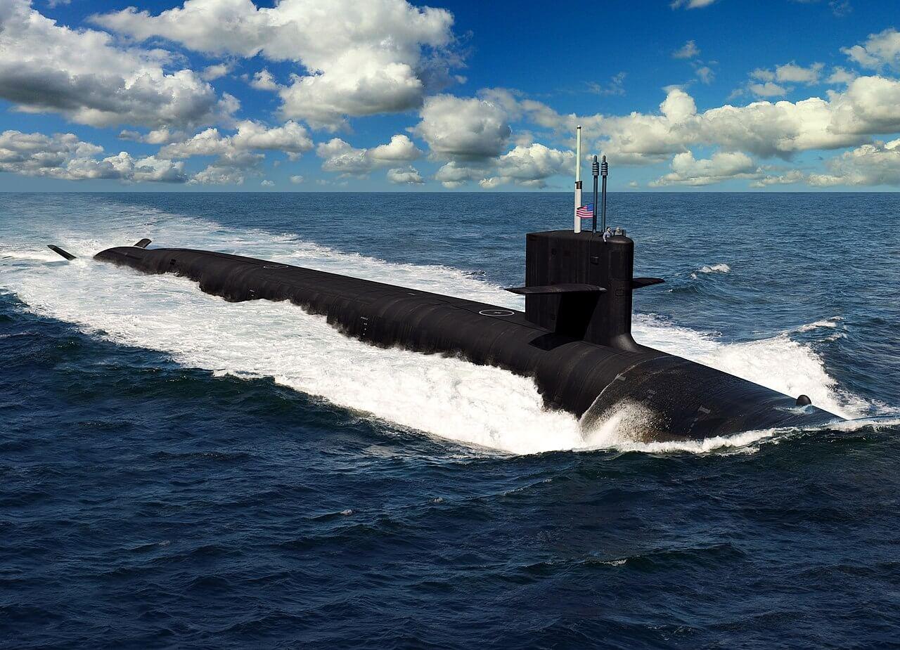 ورود زیردریایی هستهای آمریکا به خلیج فارس با عبور از تنگه هرمز+فیلم