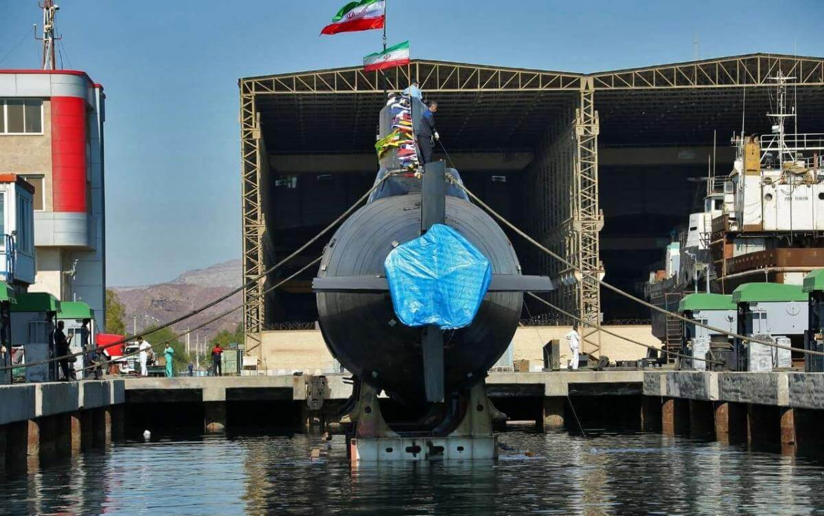 تصاویری از زیردریایی بومی کلاس فاتح نیروی دریایی ارتش
