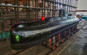 زیردریایی در حال ساخت کلاس فاتح