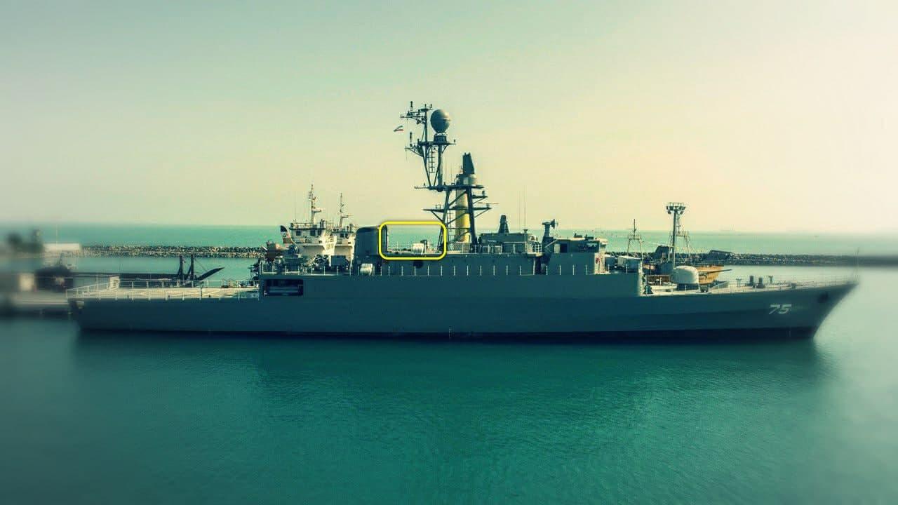 الحاق ناو دنا در اواخر بهمن به نیروی دریایی ارتش