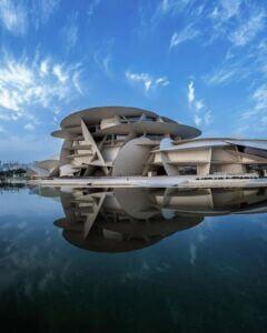 موزه ملی قطر - national museum Qatar