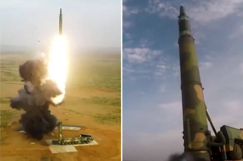 موشک بالستیک هایپرسونیک هستهای دونگ-فنگ 26 ارتش چین