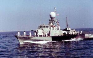 ناوچه جوشن نیروی دریایی ارتش در دوران دفاع مقدس