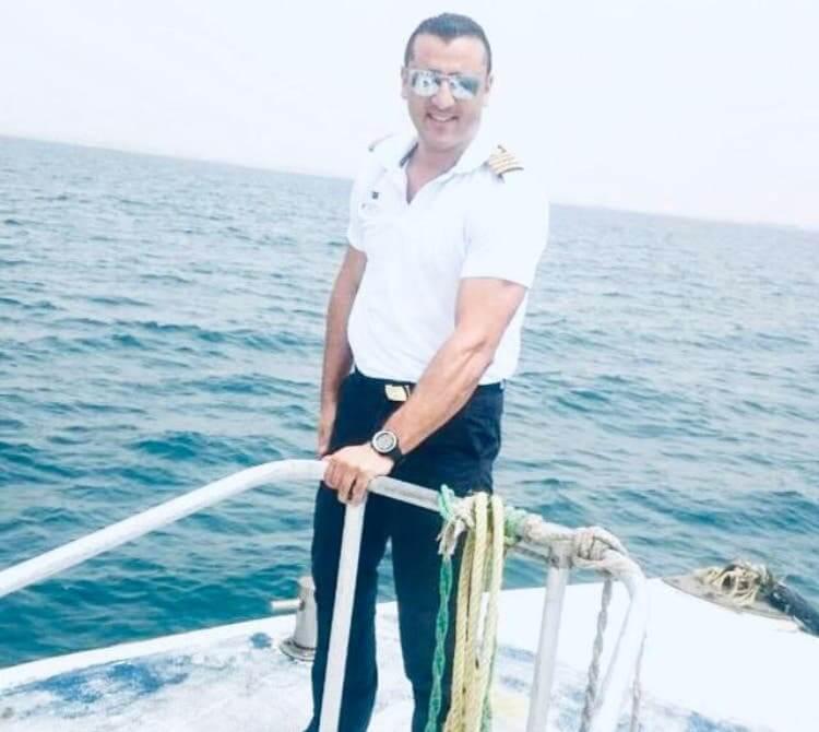 کایپتان «ولاء حافظ» مصری رکودار غواصی در گینس