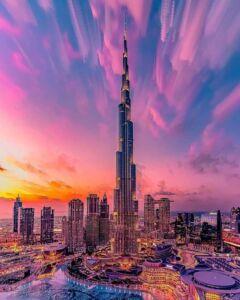 برج خلیفه دبی مرتفع ترین برج جهان