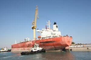 تعمیر نفتکش Polaris شرکت ملی نفتکش در ایزوایکو