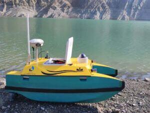شناور هدایت پذیر از راه دور (شهپاد) پویا موسسه تحقیقات آب وزارت نیرو